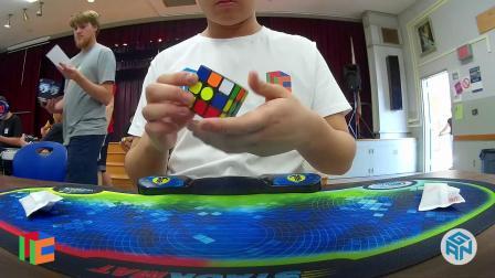 Max Park [5.84 AVG]  Rubik's Cube 3x3 Avg - San Diego Summer 2019  (Finals)