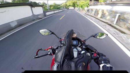 gopro 直出无裁剪 GSX250R 摩托车 虹井路六十路跑山闲聊 第七集