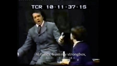 弗兰克.科莱里《冰凉的小手》普契尼歌剧《波西米亚人》1971年歌剧演出现场 - Che geldia mania - Franco Corelli