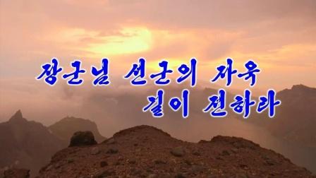 장군님 선군의 자욱 길이 전하라