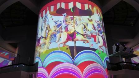 【Strawberry Alice】《聚·上海》多媒体穹顶投影秀,2019-09-03 20:30 上海东方明珠电视塔O米大厅