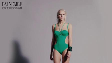 君晓天云範德安泳衣女小胸钢託聚拢遮肚显瘦 度假ins风比基尼连身泳装