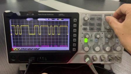 Hantek数字存储示波器DSO4254B测试总线触发解码教程