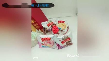 君晓天云土耳其原装进口甜甜圈西式糕点 草莓香蕉樱桃巧克力 24个1盒包邮
