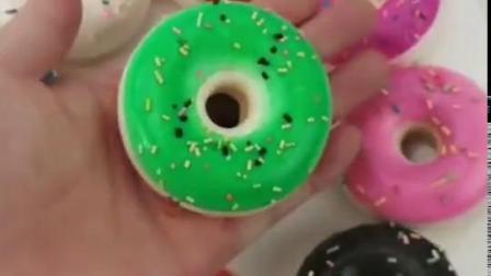 君晓天云仿真彩色甜甜圈蛋糕麵包假蛋糕麵包套装模型仿真水果婚礼道具