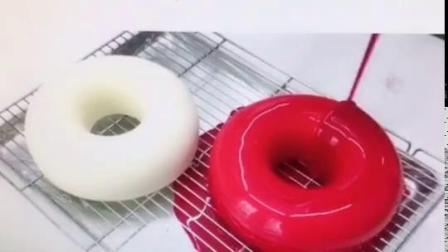 君晓天云7寸圆形法式慕斯硅胶模甘那许淋面星空甜甜圈 硅胶慕斯蛋糕模具