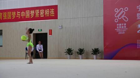 艺术体操-宁波市运会