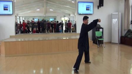 苏州市老年大学青年教师吴凌晨老师演练陈式心意混元四十八式太极拳