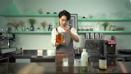 自制网红奶茶:升级版脏脏茶【椰芒脏脏茶】的做法