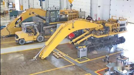 Cat 345B挖机维修变新过程