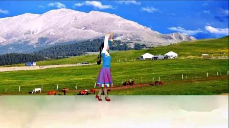 《最美的歌儿唱给妈妈》正背面表演与教学 编舞 春英 湖南乐哈哈广场舞(112)摄影演示制作 乐哈哈