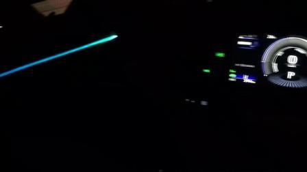 珠海金湾锋程车改雷克萨斯ES300h无损加装8色声浪氛围灯