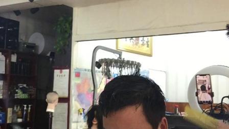 纹理男士碎发