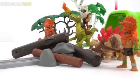 趣味定格动画,乐高人被坏蛋关笼子里,变形机器战士来救援!