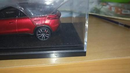 小鹏汽车模型在我家展示