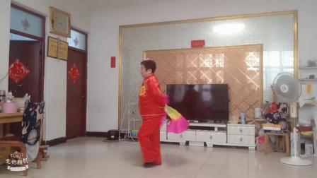 2019临沂市杭头社区房京美扇子舞(大海航行靠舵手)