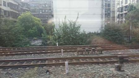 K8069次列车(襄阳~十堰)襄阳站发车 2019 09 05 08:26