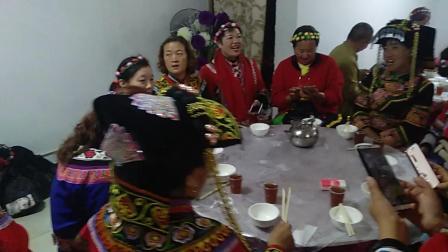 敬酒歌    毕节赫章韭菜坪旅游   韭彝农庄聚会    北京彝人演艺传媒