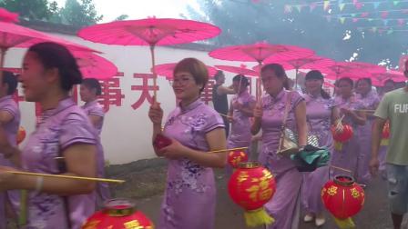 公馆镇六甘李氏宗祠重建升座姑姐回娘家拜祖盛典