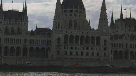 多瑙河观光船游匈牙利布达佩斯