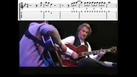 【爵士練習】吉他:轉錄John McLaughlin - Stella by Starlight