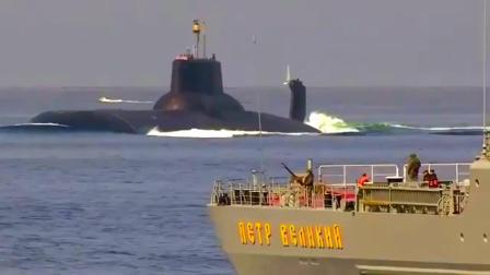 俄罗斯海军 ' 德米特里·顿斯科伊 (TK-208)' 战略导弹核潜艇