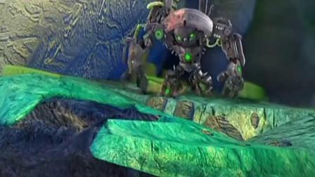 蓝猫龙骑团:蓝猫掉下悬崖,炫迪终于知道错了,再也不贪玩了!