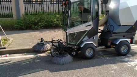 宁波易捷环卫设备有限公司柴油小型扫地车 背街小巷柴油小扫 人行道柴油小扫