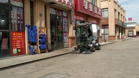 广场柴油多功能扫地车 景区石砖地面清扫扫地车 Square diesel multi-purpose sweeping machine