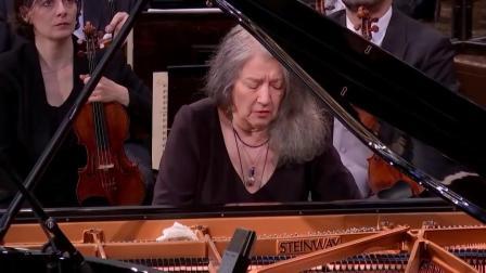 阿格里奇《李斯特第一钢琴协奏曲》2017年维也纳爱乐 - Martha Argerich
