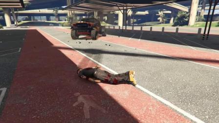 游戏GTA5侠盗飞车,电脑游戏超搞笑时刻,不作死就不会死系列