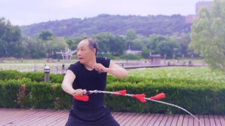 君晓天云响鞭麒麟鞭健身鞭鞭子甩鞭不鏽钢鞭链子鞭双环鞭包邮热卖野马钢鞭