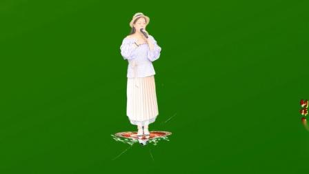 来布小宝:绿屏素材作品【梦中等着你】