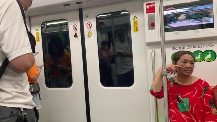 上海地铁2号线(绿灯侠288)静安寺-南京西路(终点站广兰路)