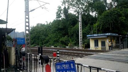 9.7进德湘桂线HXD3C牵引5534慢速通过547道口