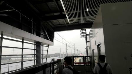 常州地铁1号线南夏墅方向列车终到南夏墅站