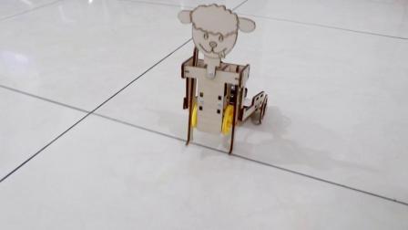 拉车机器人