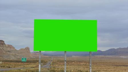 [shijueju.com]绿屏抠像户外大型广告牌视频素材