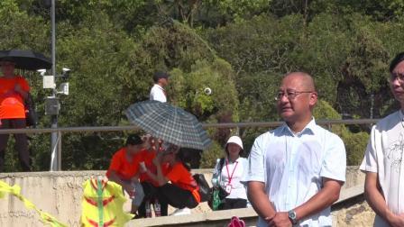 9.7亚运沙排落成仪式在象山东海半边山风景区启动全场