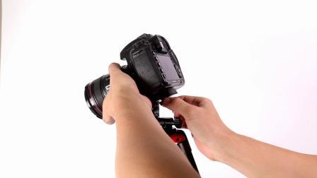 劲捷VT-831摄影/摄像两用轻便三脚架操作视频