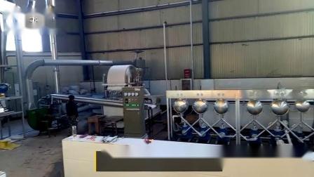 红薯淀粉设备生产视频,全自动化生产