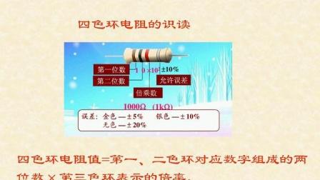 《色环电阻器的识别》微课----宁远县职业中专学校何绍斌