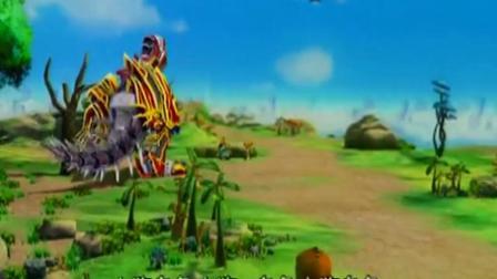 蓝猫龙骑团:啸天升级成功了,巴豆开心的炫耀,冲着土狼叫土狗!