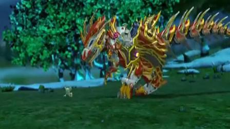 蓝猫龙骑团:炫迪完全,为了控制住炫迪,蓝猫决定五龙合一!