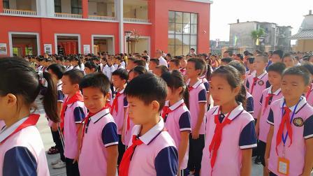 广东省连南县石泉小学曾校长在国旗下的讲话