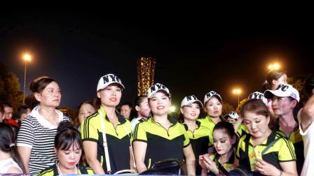 舞动潇湘2019广场舞大赛城市决赛益阳赛区南县红伊曳舞队荣获亚軍