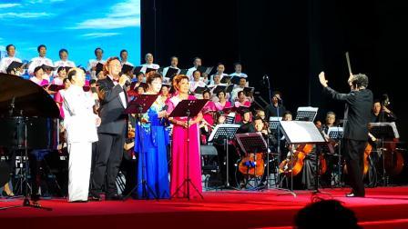 冯宝宏、王凤云二重唱《爱恋》,张枚同词杨森曲,合唱北京民族合唱团。