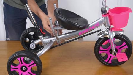 粉色三轮安装教程