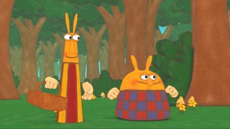 提普和托普一起外出野餐,玩得很开心