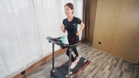 君晓天云海斯曼跑步机家用款小型女智能电动健身房专用可摺叠上楼